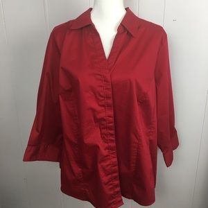 Basic Editions size 2x color red